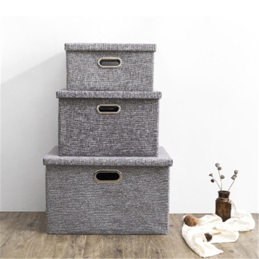 Oxford Folding Storage Box Clothes Sundry Children's Toy Books Underwear OrganizerClothes Sundry Chi